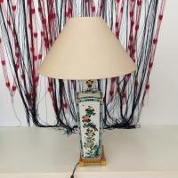 Голяма порцеланова настолна лампа