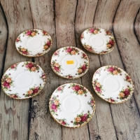 Десертни чинии Роял Албърт комплект