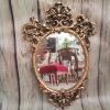 Огледало рококо от полирезин