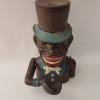 Афро джентълмен касичка с механизъм