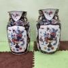 Комплект от 2бр. азиатски порцеланови вази