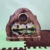 Механичен каминен порцеланов часовник