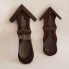 Декоративни лъжици от цам на дървени поставки