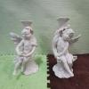 """Порцеланови свещници """"Бели ангели"""""""